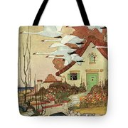 House And Garden Fall Planting Guide Tote Bag