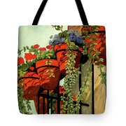 House And Garden Garden Furnishing Number Cover Tote Bag