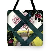 House And Garden Household Equipment Tote Bag