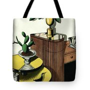 House And Garden Household Equipment Number Cover Tote Bag