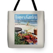 House And Garden Ideas For Summer Issue Cover Tote Bag