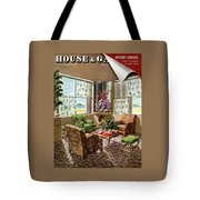 House And Garden Issue About Southern California Tote Bag