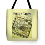 House And Garden Servant Less Living Houses Cover Tote Bag