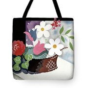 House And Garden Summer Furnishings Number Cover Tote Bag