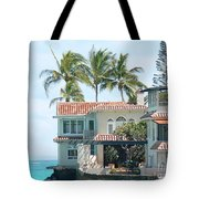 House At Land's End Tote Bag