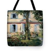 House At Rueil Tote Bag