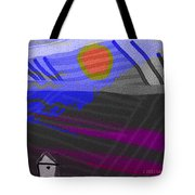 House At The Bottom Of The Hill Tote Bag
