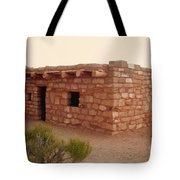 House At The Timbisha Shoshone Homeland Tote Bag