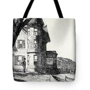 House By A River Tote Bag by Edward Hopper
