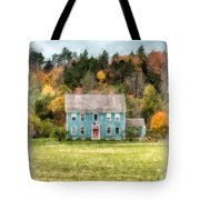 House By The Woods Tote Bag