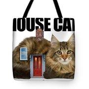 House Cat Tote Bag