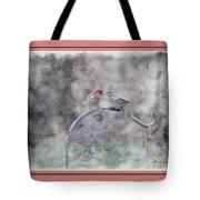 House Finch - Kiss Me Tote Bag