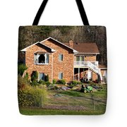 House From The Highest Point Tote Bag