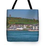 House In A Town, Portaferry Tote Bag
