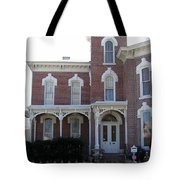 House In Denison Texas Tote Bag
