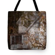 House In Fall Tote Bag