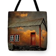 House In The Clouds Tote Bag
