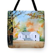 House In The Meadow Tote Bag