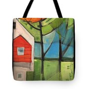 House In The Trees Tote Bag