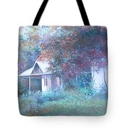House In The Woods Tote Bag