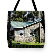 House Made Of Limestone Tote Bag