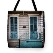 House Of Blue Doors Tote Bag