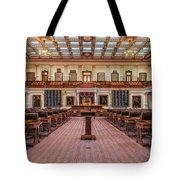 House Of Representatives - Texas State Capitol Tote Bag
