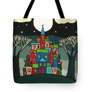 House Of The Crow Tote Bag