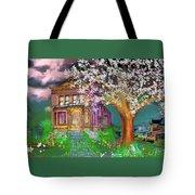 House On Milbert Street Tote Bag