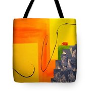 House On The Edge Of Aliveness Tote Bag