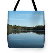 House On The Pond Tote Bag