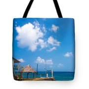 House Overlooking The Sea Tote Bag