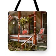 House - Porch - Traditional American Tote Bag