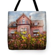 House - Victorian - Summer Cottage  Tote Bag