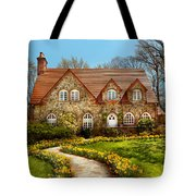 House - Westfield Nj - The Estates  Tote Bag