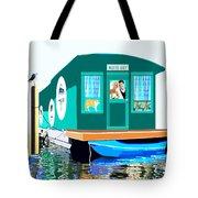 Houseboat Tote Bag