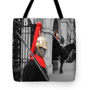 Household Cavalry Guards  Tote Bag