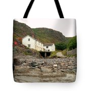 Houses At Kynance Cove Tote Bag