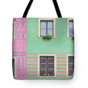 Houses From The Outside Tote Bag