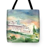 Houses In Montepulciano In Tuscany 02 Tote Bag