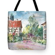 Houses In Soufflenheim Tote Bag