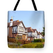 Houses In Woodford England Tote Bag