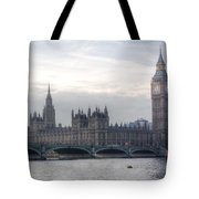 Houses Of Parliament Tote Bag