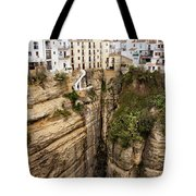 Houses On A Rock In Ronda Tote Bag