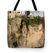 Houses On Rock In Ronda Tote Bag