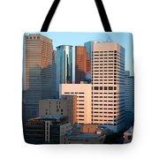 Houston Financial District Tote Bag