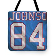 Houston Oilers Billy Whiteshoes Johnson Tote Bag