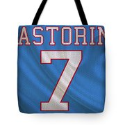 Houston Oilers Dan Pastorini Tote Bag