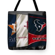 Houston Sports Teams Tote Bag