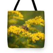 Hoverfly Feeding Tote Bag